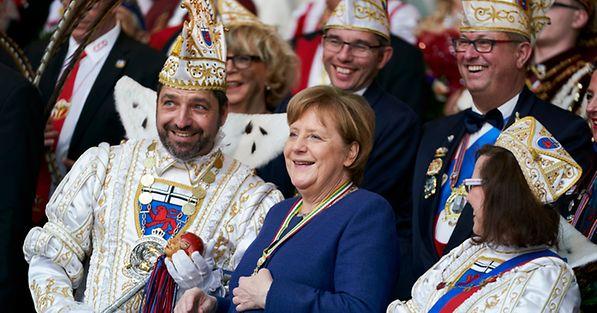 Merkel Karneval